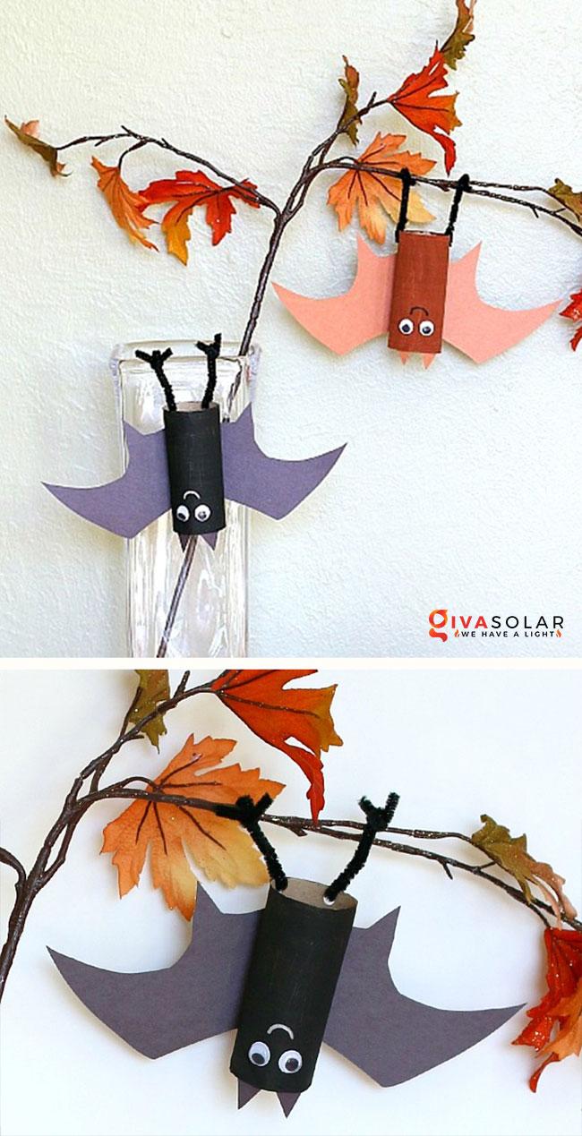 Ý tưởng trang trí Halloween đơn giãn dành cho trẻ em 2