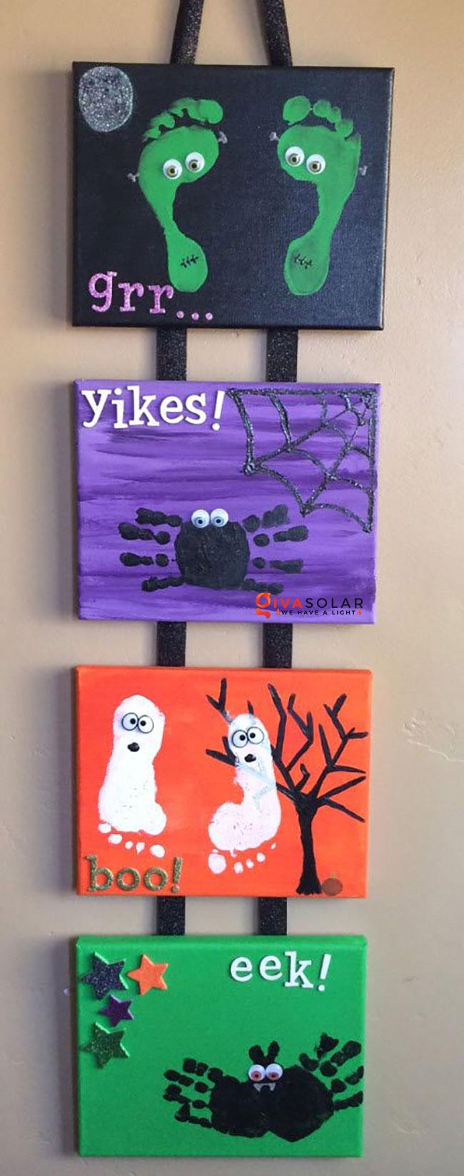 Ý tưởng trang trí Halloween đơn giãn dành cho trẻ em 22