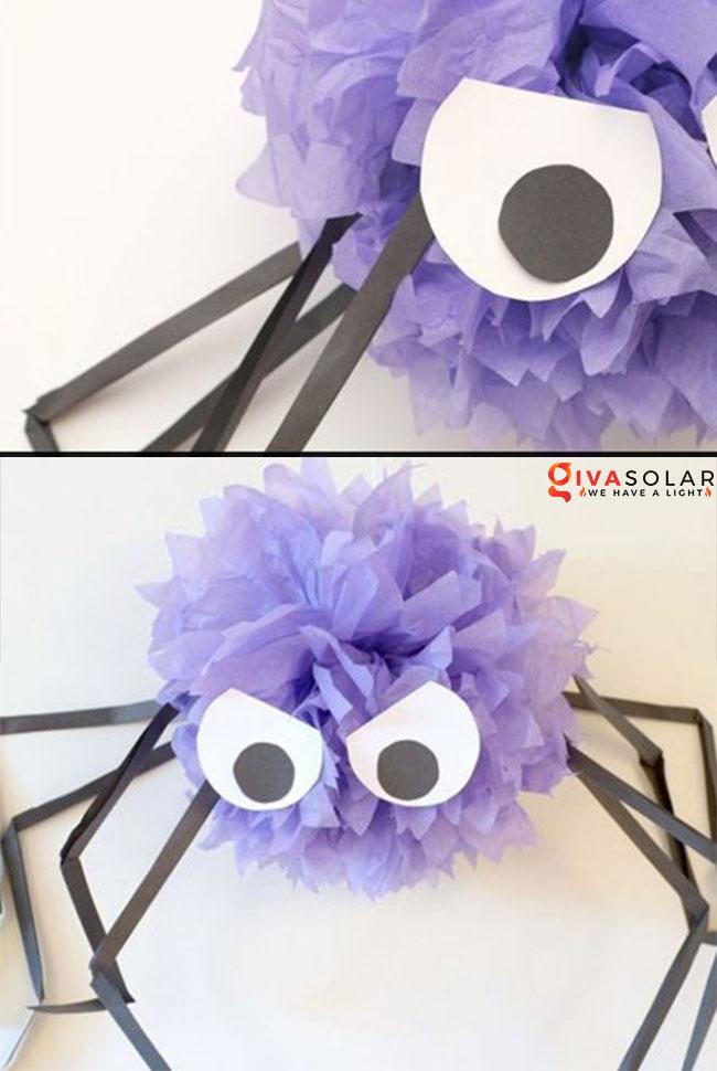 Ý tưởng trang trí Halloween đơn giãn dành cho trẻ em 23