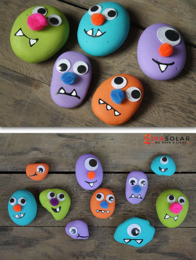 Ý tưởng trang trí Halloween đơn giãn dành cho trẻ em 24