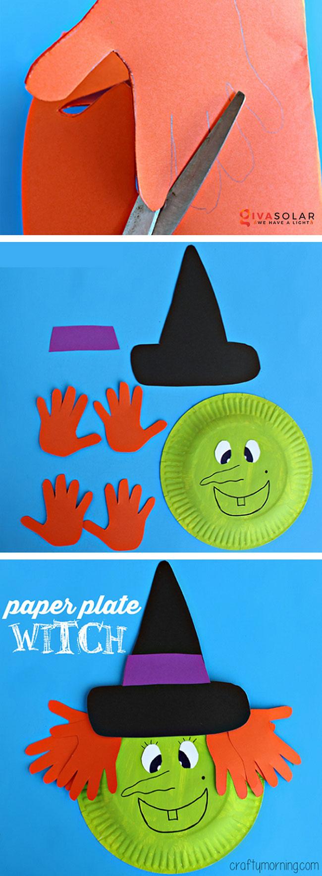 Ý tưởng trang trí Halloween đơn giãn dành cho trẻ em 4