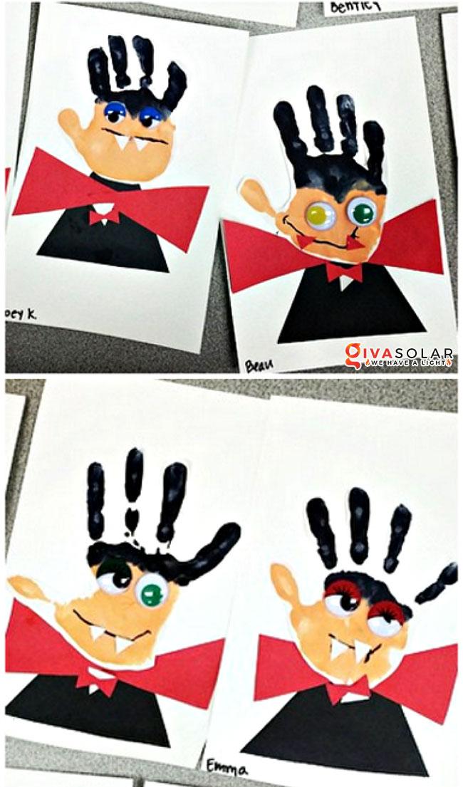 Ý tưởng trang trí Halloween đơn giãn dành cho trẻ em 5