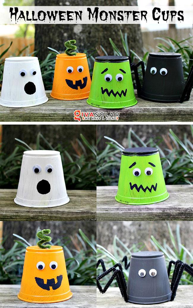 Ý tưởng trang trí Halloween đơn giãn dành cho trẻ em 6