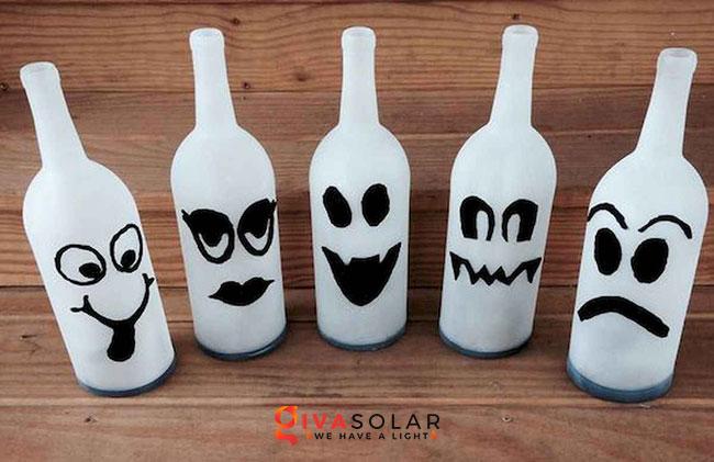 Ý tưởng trang trí Halloween đơn giãn dành cho trẻ em 7