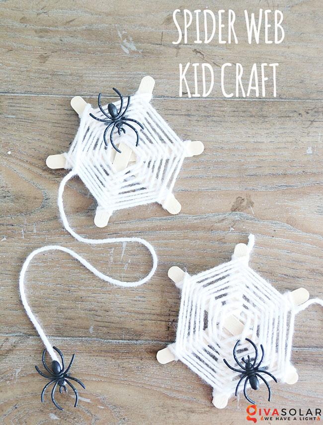 Ý tưởng trang trí Halloween đơn giãn dành cho trẻ em 8