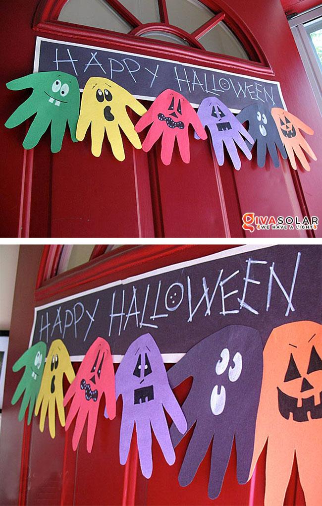 Ý tưởng trang trí Halloween đơn giãn dành cho trẻ em 9
