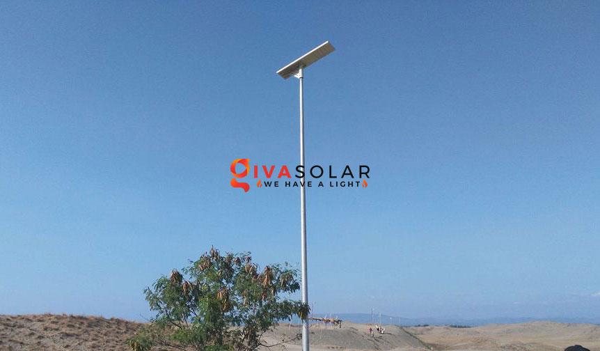 Các loại phân bổ ánh sáng của đèn đường năng lượng mặt trời