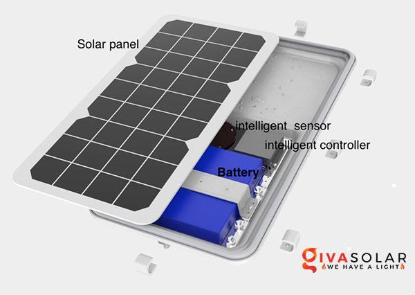 Cách tính kích thước pin cho đèn đường năng lượng mặt trời 4