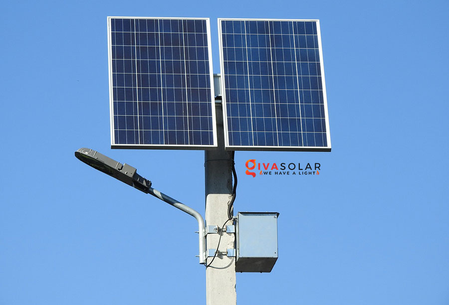 Cách tính kích thước pin cho đèn đường năng lượng mặt trời