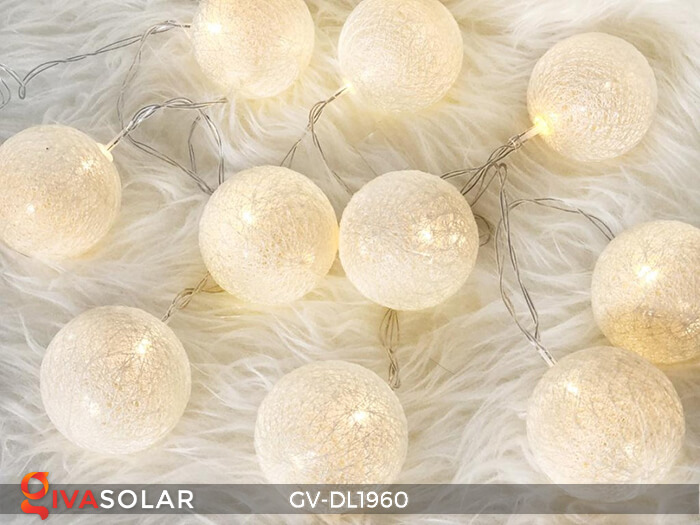 Dây đèn quả cầu cotton GV-DL1960 12