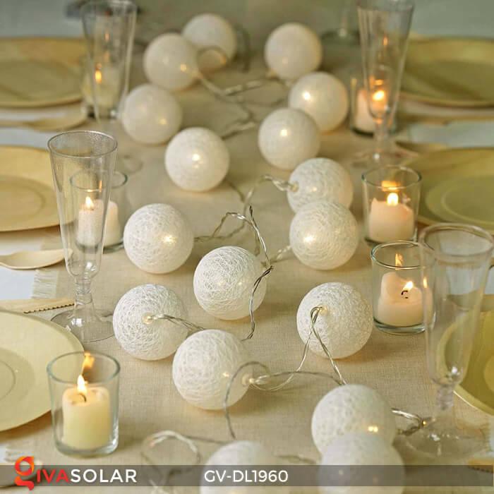 Dây đèn quả cầu cotton GV-DL1960 21