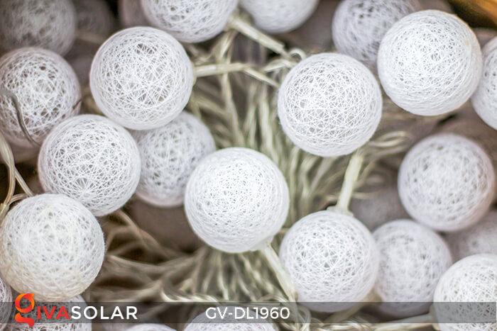 Dây đèn quả cầu cotton GV-DL1960 7