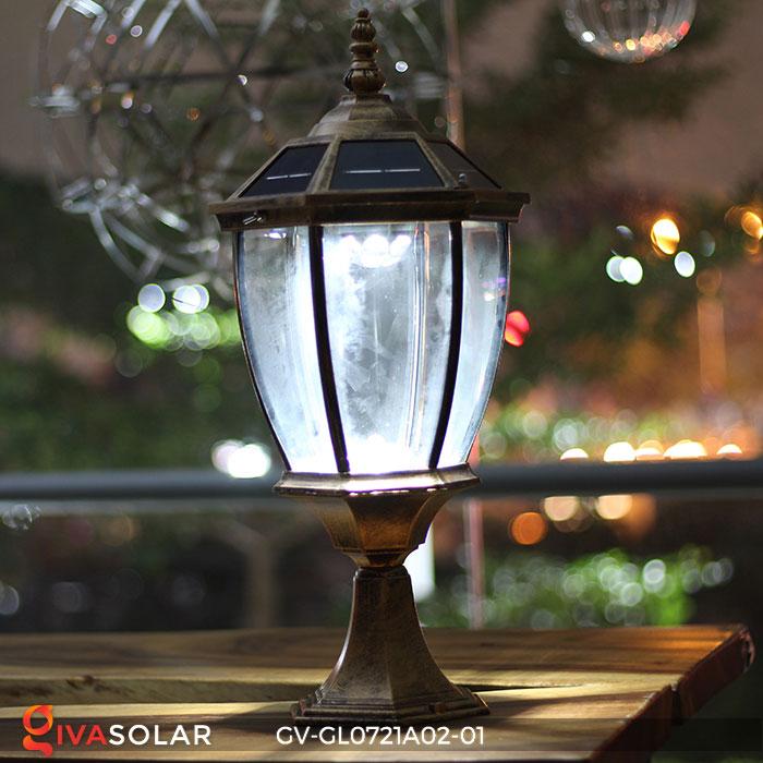 Đèn cổng năng lượng mặt trời GV-GL0721A02-01 11