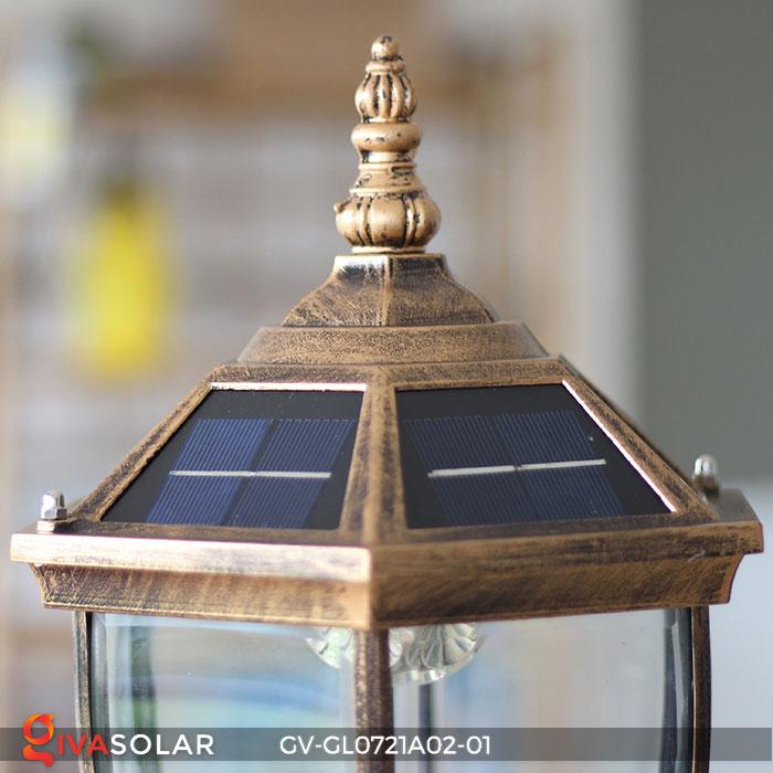 Đèn cổng năng lượng mặt trời GV-GL0721A02-01 12
