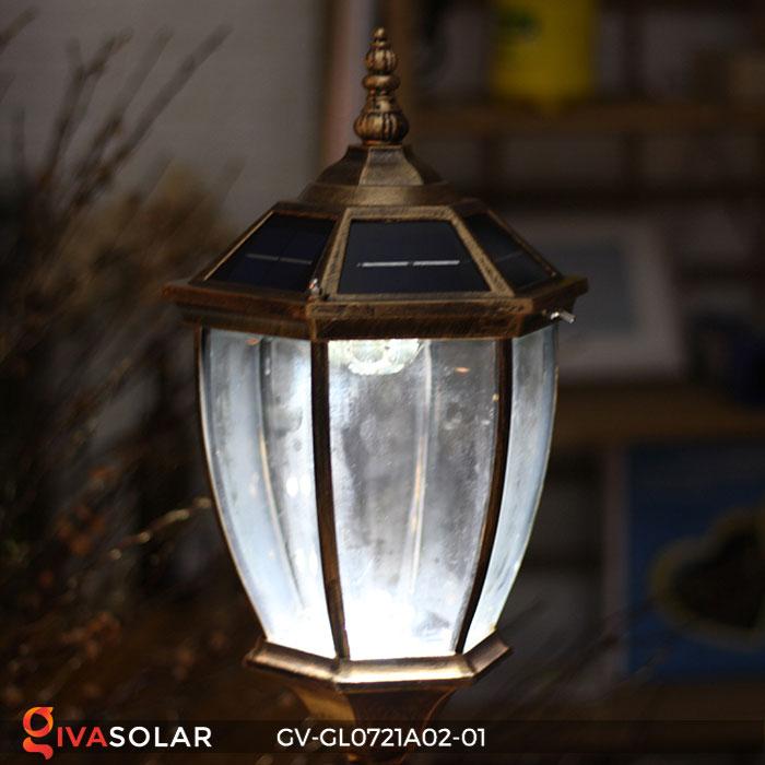 Đèn cổng năng lượng mặt trời GV-GL0721A02-01 20