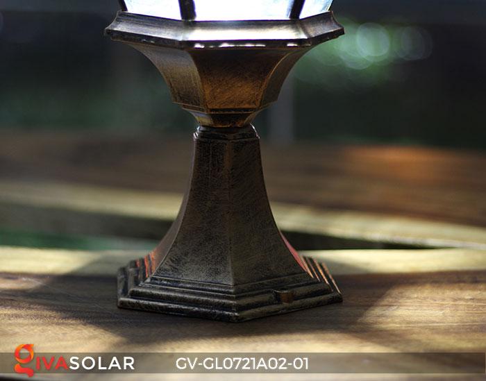 Đèn cổng năng lượng mặt trời GV-GL0721A02-01 21