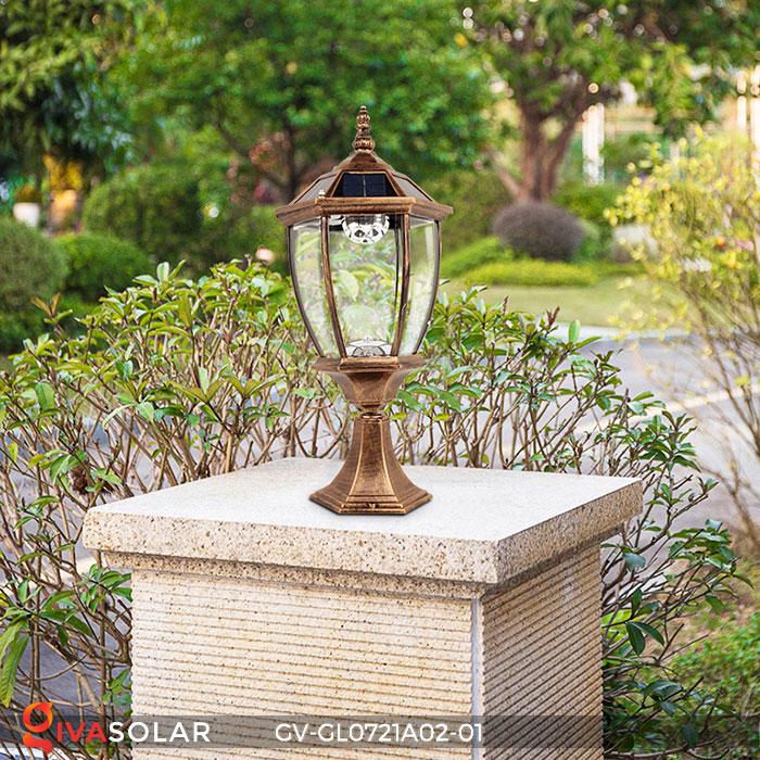 Đèn cổng năng lượng mặt trời GV-GL0721A02-01 3