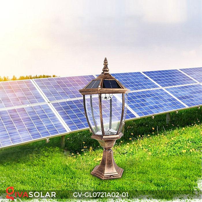 Đèn cổng năng lượng mặt trời GV-GL0721A02-01 4