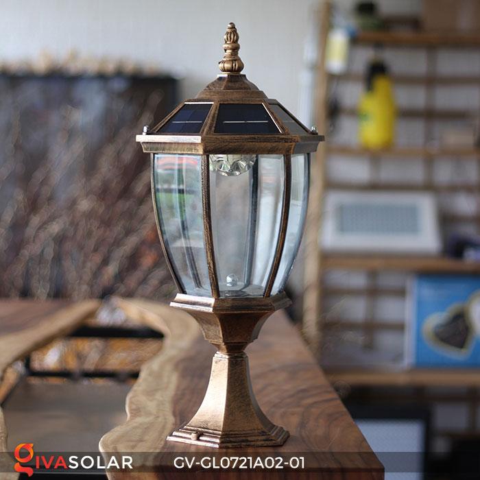 Đèn cổng năng lượng mặt trời GV-GL0721A02-01 5