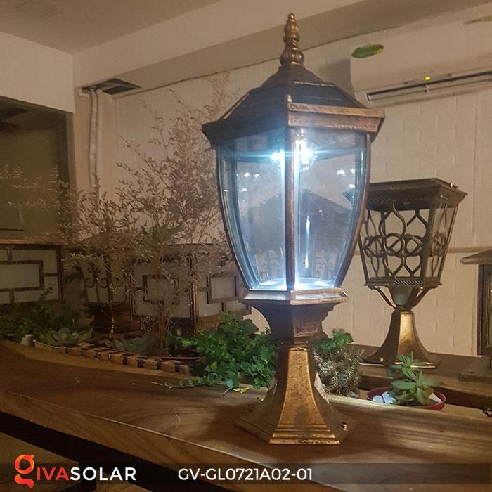Đèn cổng năng lượng mặt trời GV-GL0721A02-01 7