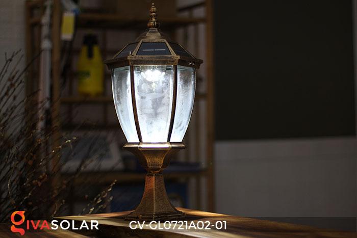 Đèn cổng năng lượng mặt trời GV-GL0721A02-01 8