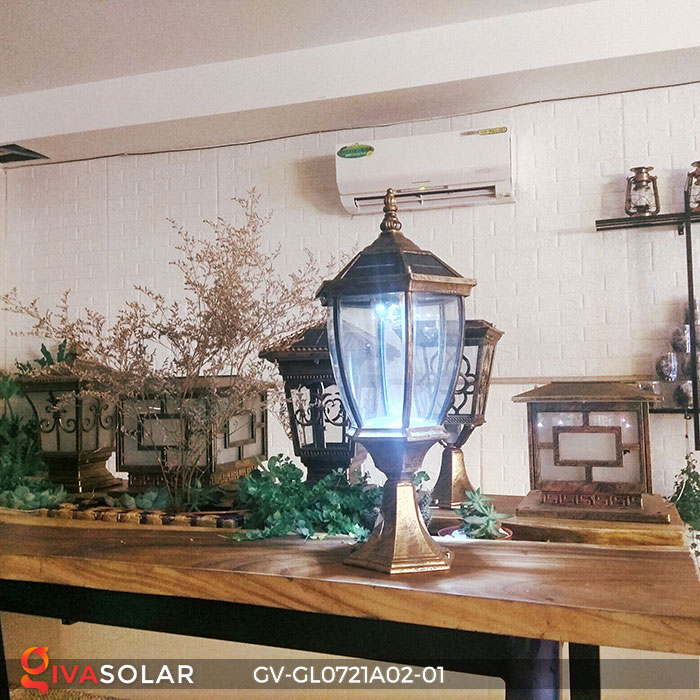 Đèn cổng năng lượng mặt trời GV-GL0721A02-01 9