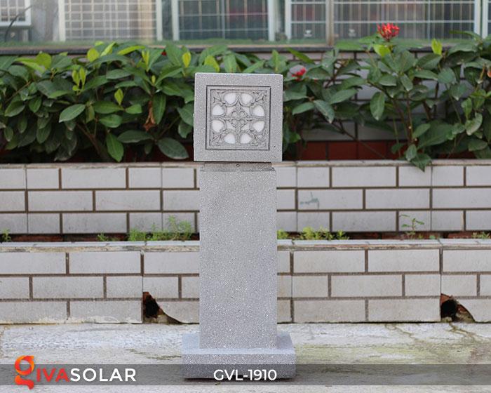 Đèn đá sân vườn trụ vuông GVL-1910 1