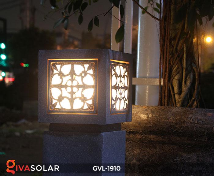 Đèn đá sân vườn trụ vuông GVL-1910 12