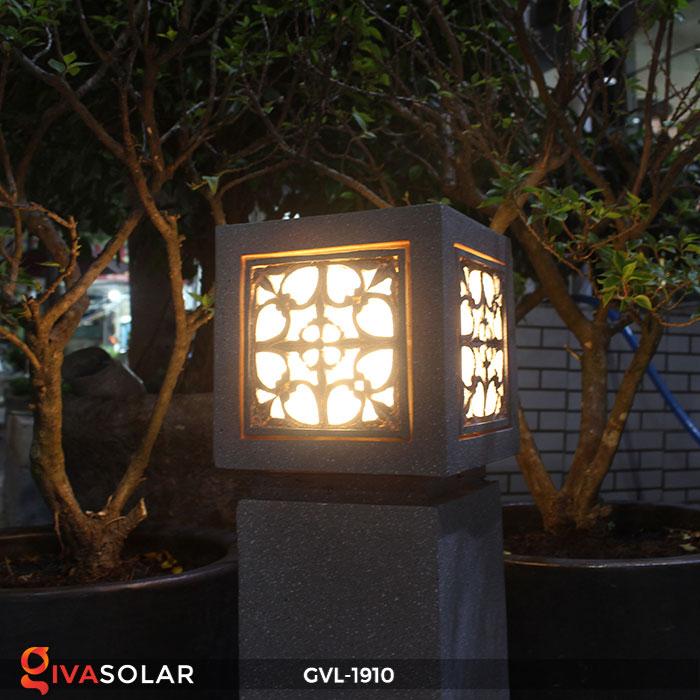 Đèn đá sân vườn trụ vuông GVL-1910 13