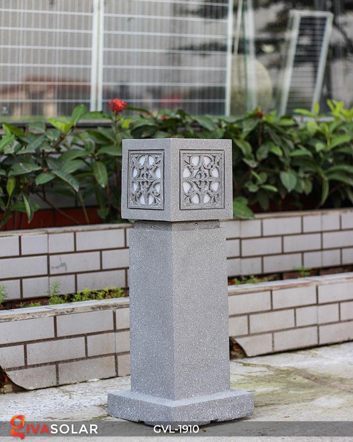 Đèn đá sân vườn trụ vuông GVL-1910 2