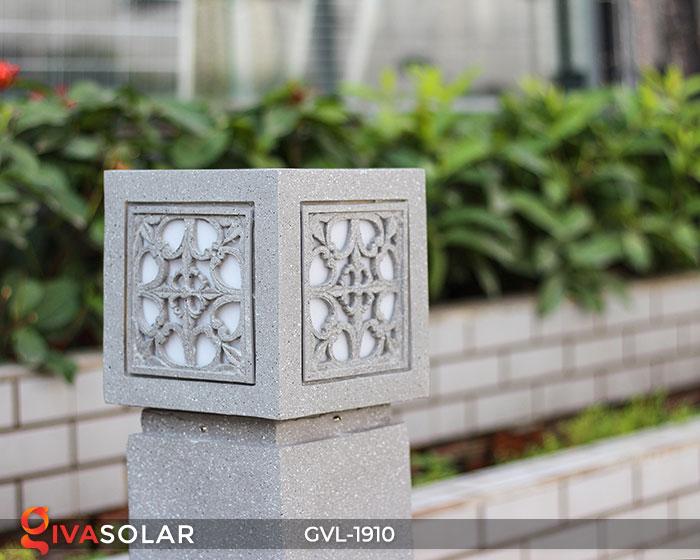 Đèn đá sân vườn trụ vuông GVL-1910 4