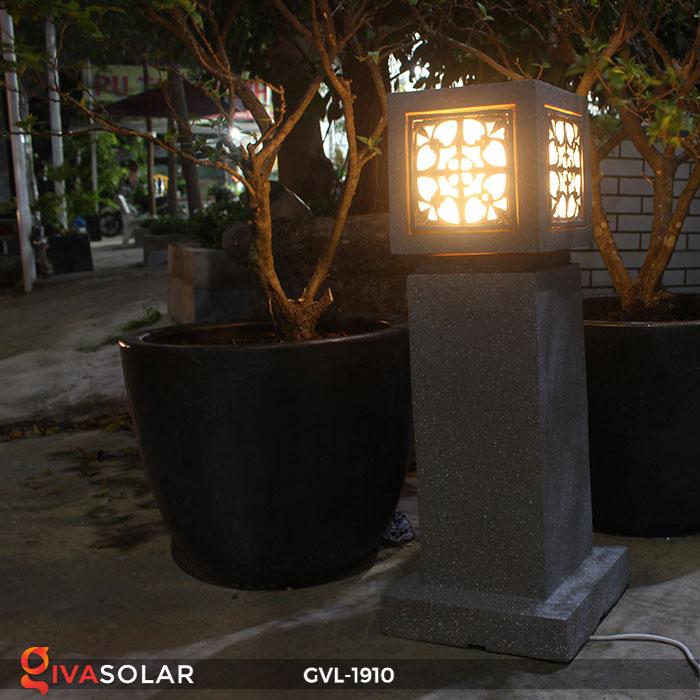 Đèn đá sân vườn trụ vuông GVL-1910 9