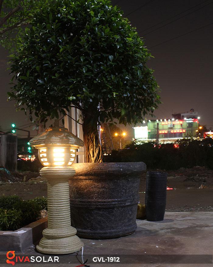 Đèn đá trang trí sân vườn GVL-1912 10
