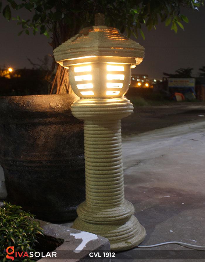 Đèn đá trang trí sân vườn GVL-1912 11