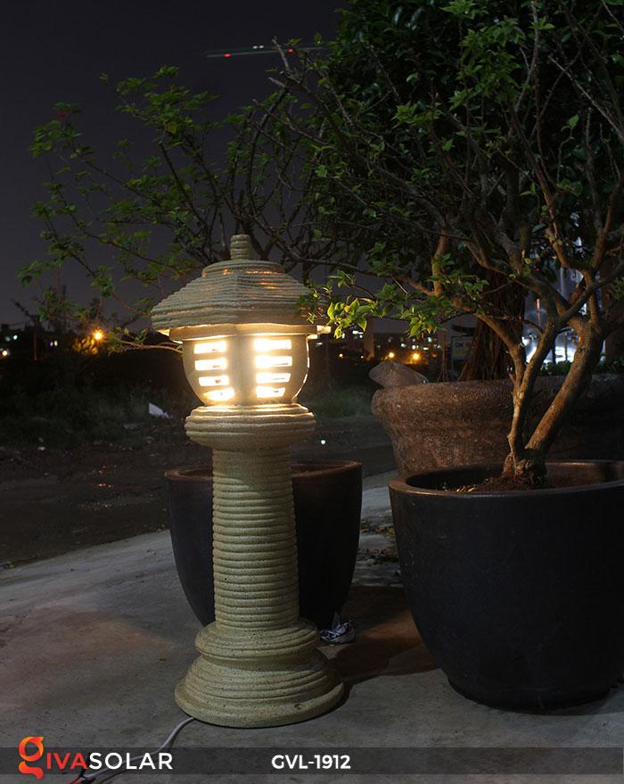 Đèn đá trang trí sân vườn GVL-1912 14