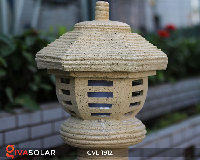 Đèn đá trang trí sân vườn GVL-1912 5