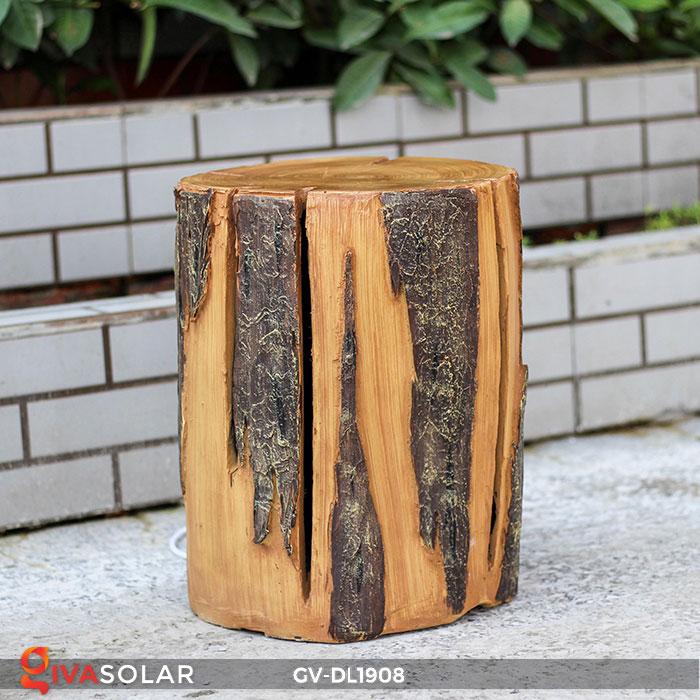 Đèn đôn gỗ gốc cây trang trí GV-DL1908 1