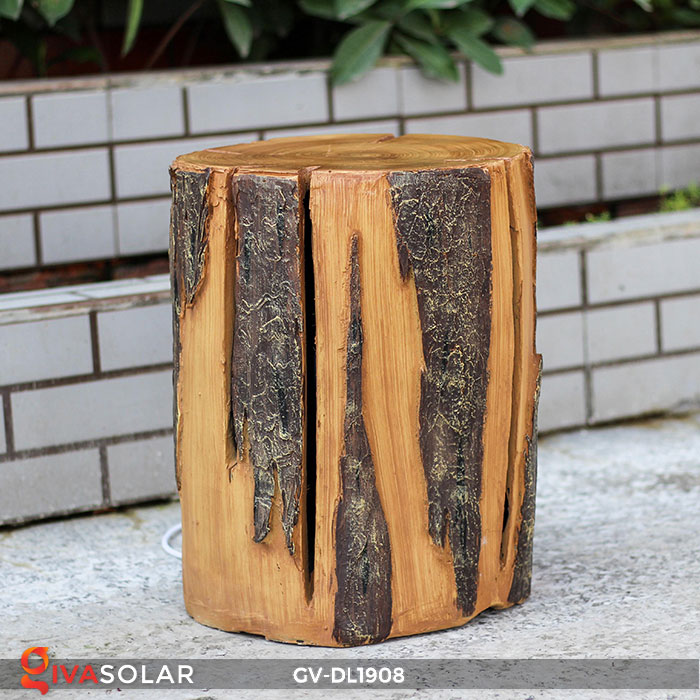 Đèn đôn gỗ gốc cây trang trí GV-DL1908 2