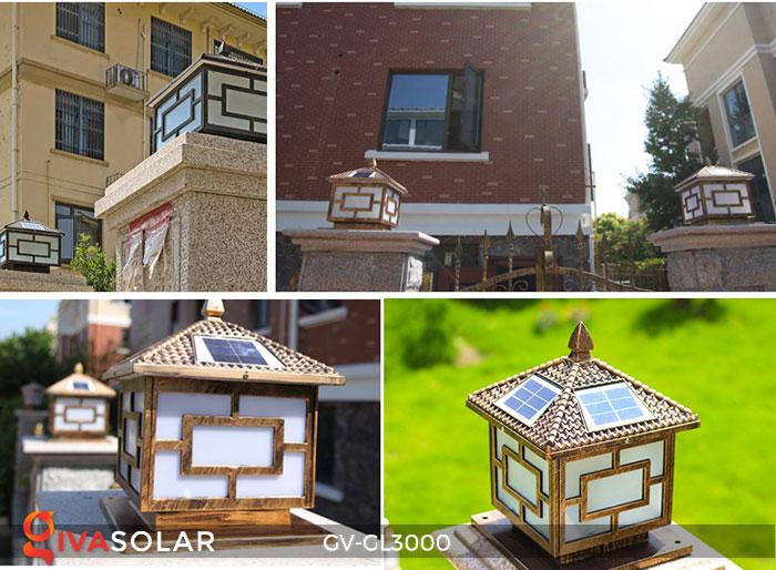 Đèn gắn trên cổng năng lượng mặt trời GV-GL3000 1