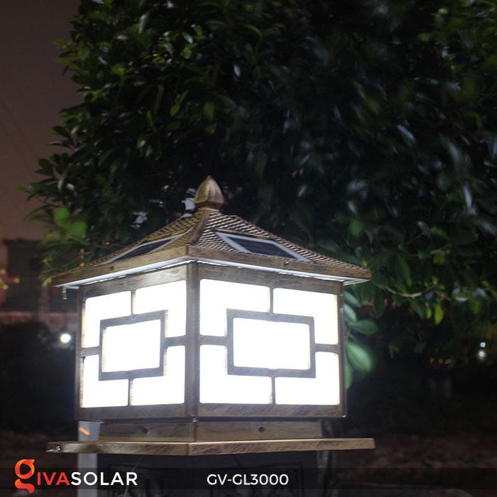 Đèn gắn trên cổng năng lượng mặt trời GV-GL3000 12