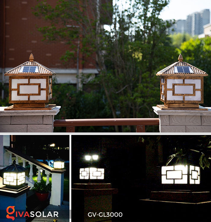 Đèn gắn trên cổng năng lượng mặt trời GV-GL3000 2