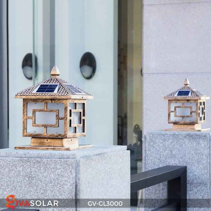 Đèn gắn trên cổng năng lượng mặt trời GV-GL3000 8