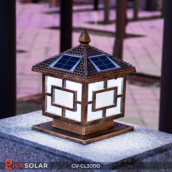 Đèn gắn trên cổng năng lượng mặt trời GV-GL3000 9