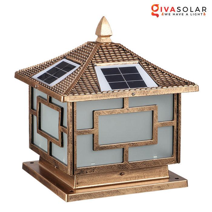 Đèn gắn trên cổng năng lượng mặt trời GV-GL3000