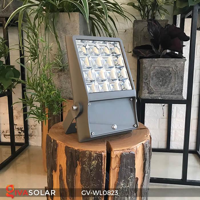 Đèn pha treo tường năng lượng mặt trời GV-WL0823 1