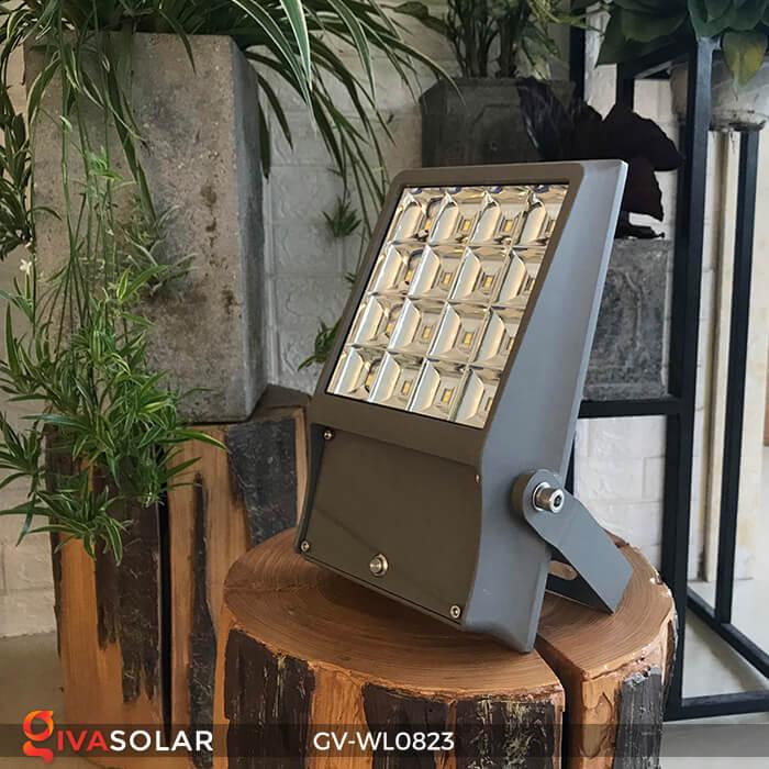 Đèn pha treo tường năng lượng mặt trời GV-WL0823 3