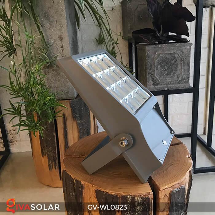 Đèn pha treo tường năng lượng mặt trời GV-WL0823 5