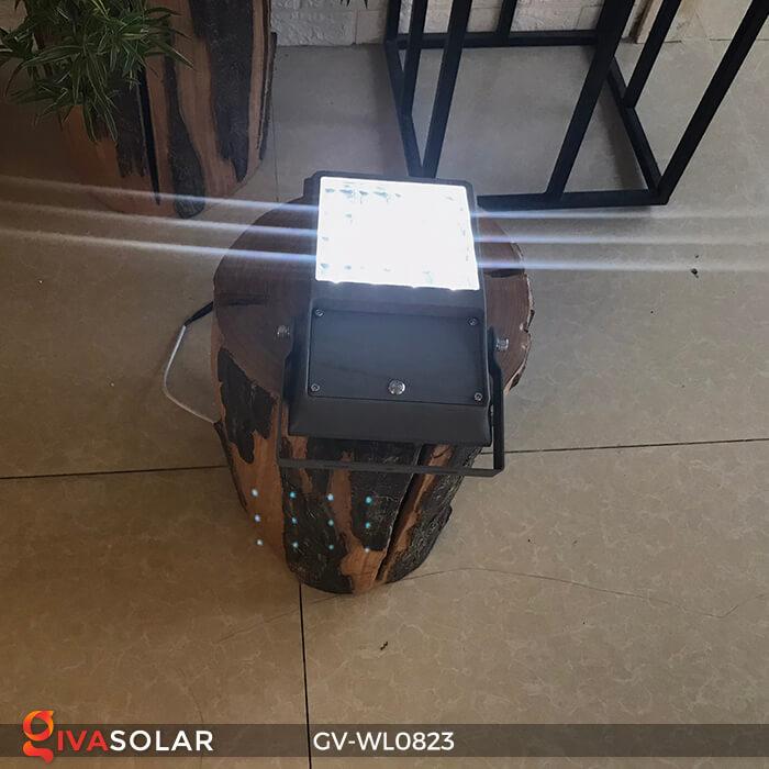 Đèn pha treo tường năng lượng mặt trời GV-WL0823 8