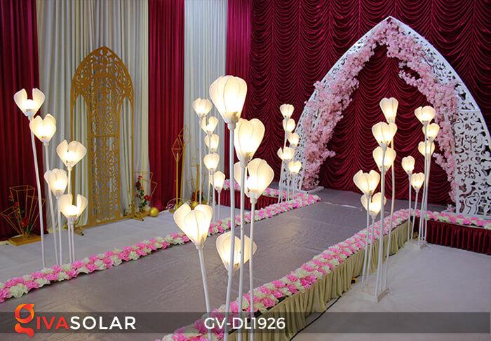 Đèn sóng hoa mộc lan GV-DL1926 trang trí sự kiện tiệc cưới 10
