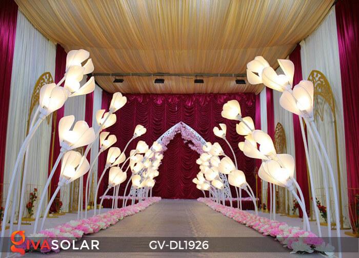 Đèn sóng hoa mộc lan GV-DL1926 trang trí sự kiện tiệc cưới 11